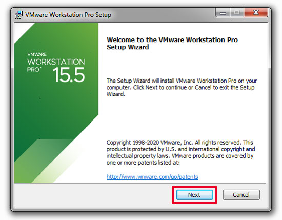 bat dau cai dat vmware workstation