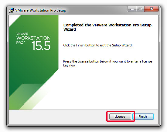 nhap license key vmware